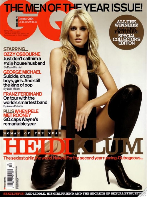 GQ Cover March 2009