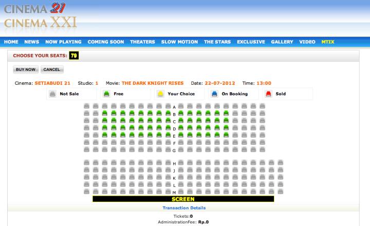 M-Tix Cinema 21 & XXI