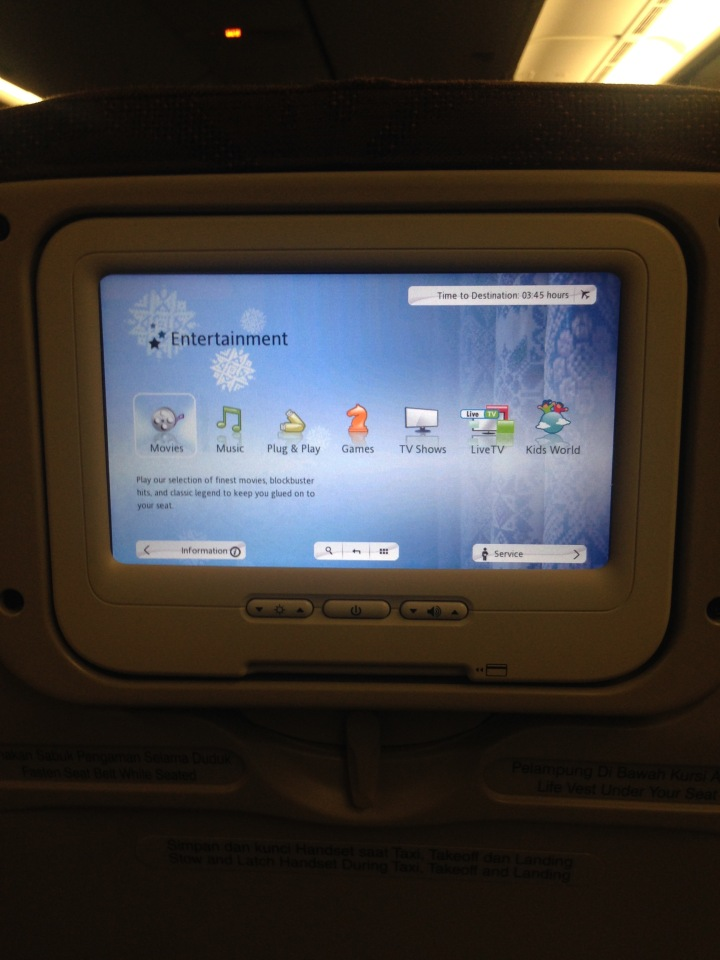Garuda Indonesia In-Flight Entertainment