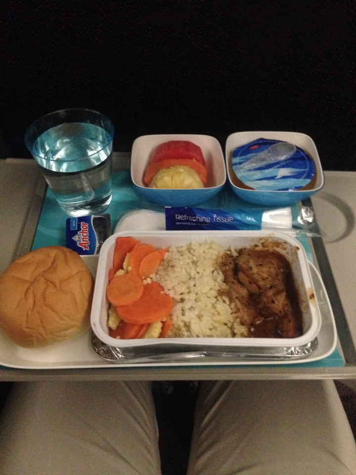 Garuda Indonesia GA 88 Dinner