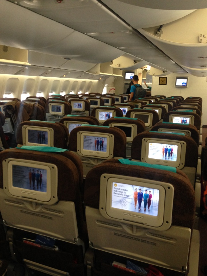Garuda Indonesia Boeing 777 Interior